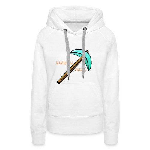 MineBerk Games Logo - Vrouwen Premium hoodie