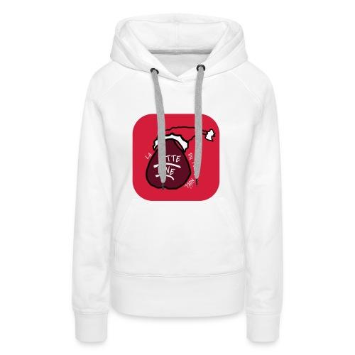 Street- Wear La Hotte line du Père Noël - Sweat-shirt à capuche Premium pour femmes