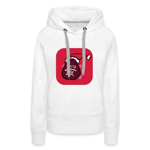 T SHIRT La Hotte Line Du Père Noël - Sweat-shirt à capuche Premium pour femmes