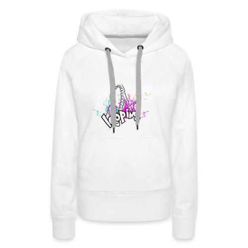 Looping - Sweat-shirt à capuche Premium pour femmes
