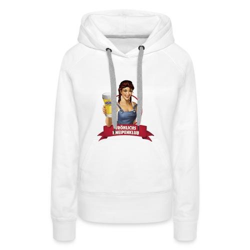 Unser Logo auf deinem Shirt - Frauen Premium Hoodie