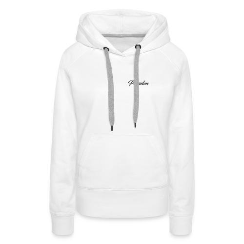 Poseidon Simple Logo - Women's Premium Hoodie