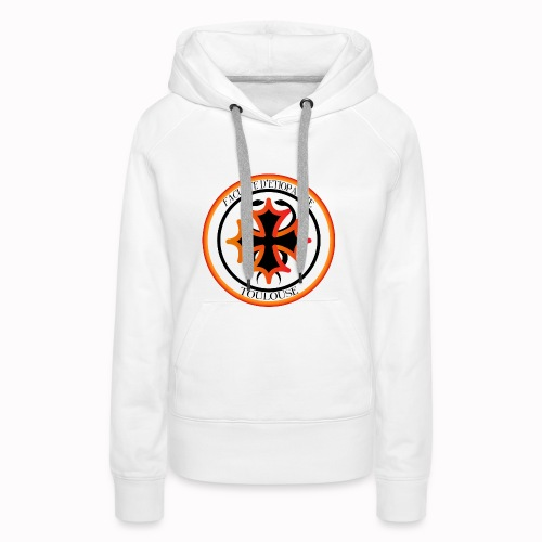 Faculté d'étiopathie Toulouse - Sweat-shirt à capuche Premium pour femmes