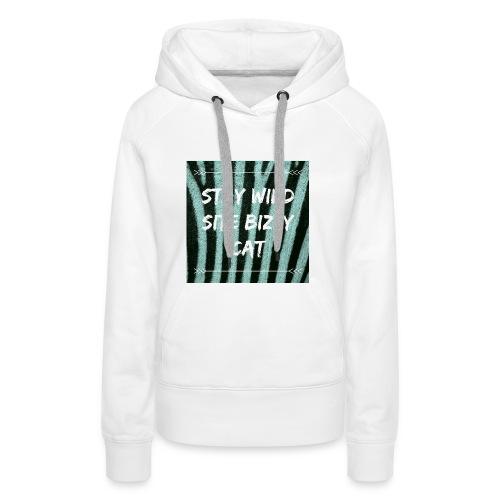 Bizzy cat - Vrouwen Premium hoodie