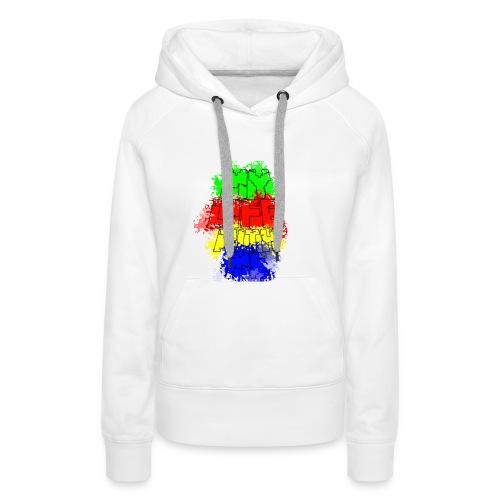 Den Officielle My Life With Minecraft Logo - Dame Premium hættetrøje