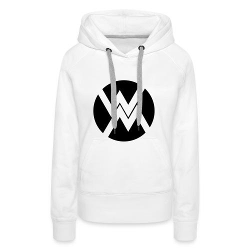 logo WM - Sweat-shirt à capuche Premium pour femmes