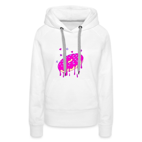 Drippy Pink Donut - Frauen Premium Hoodie