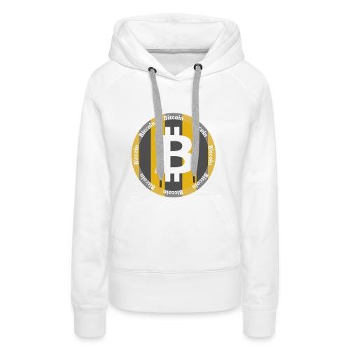 BitCoin | Dein Statement zur Kryptobewegung - Frauen Premium Hoodie