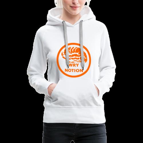 WRYNOTION Brain Logo - Frauen Premium Hoodie