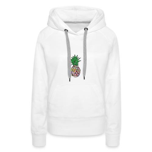 Moderne Ananas - Frauen Premium Hoodie