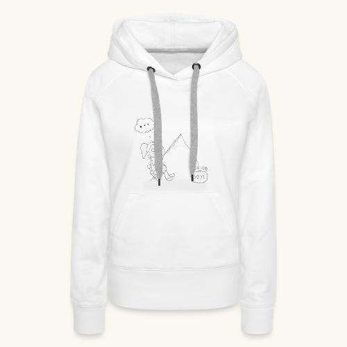 Singlehood - Sweat-shirt à capuche Premium pour femmes