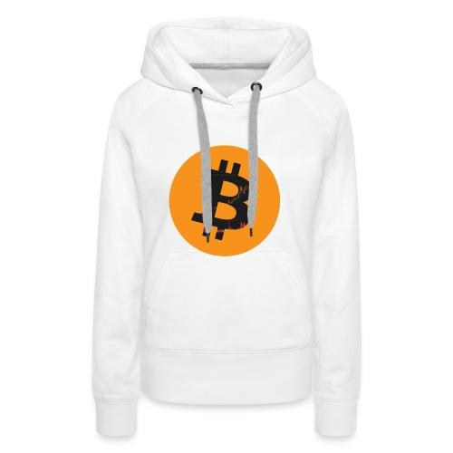 Bitcoin Logo - Frauen Premium Hoodie