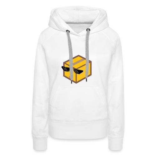 Deal With The Box - Sweat-shirt à capuche Premium pour femmes