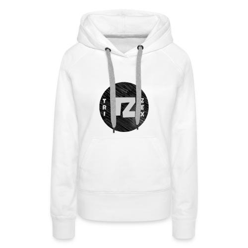 Trizex Logo Volledig - Vrouwen Premium hoodie