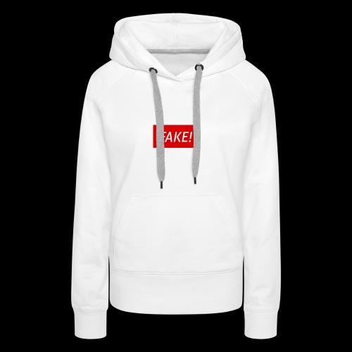 FAKE-Collection by ØNIC™ - Frauen Premium Hoodie