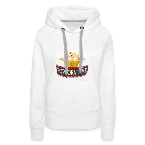 Popcorn Time - Vrouwen Premium hoodie