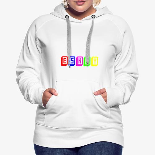 Eskay Mahjong-Format - Frauen Premium Hoodie