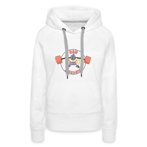 rr strength - Sweat-shirt à capuche Premium pour femmes