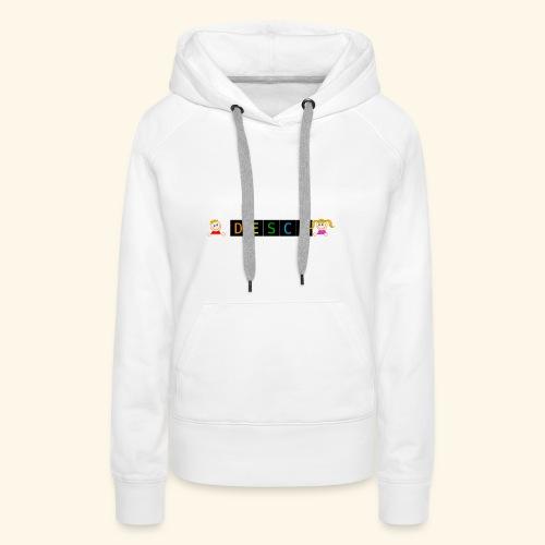 DESCO - Sweat-shirt à capuche Premium pour femmes