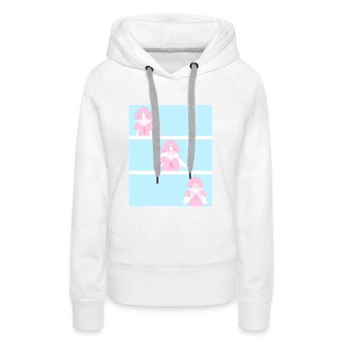 I like you! - Women's Premium Hoodie