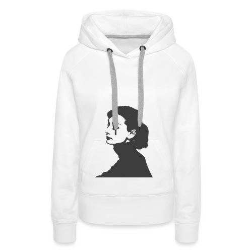 Silhouette - Frauen Premium Hoodie