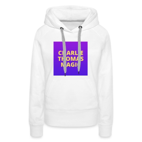Charlie Thomas Magic - Women's Premium Hoodie