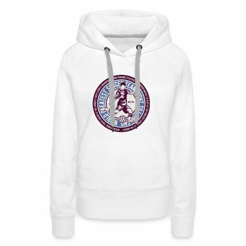 TEAM SOCCER - Fußball und Fußballer Geschenk Shirt - Frauen Premium Hoodie