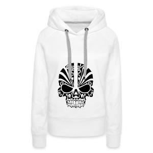 tribal skull - Frauen Premium Hoodie