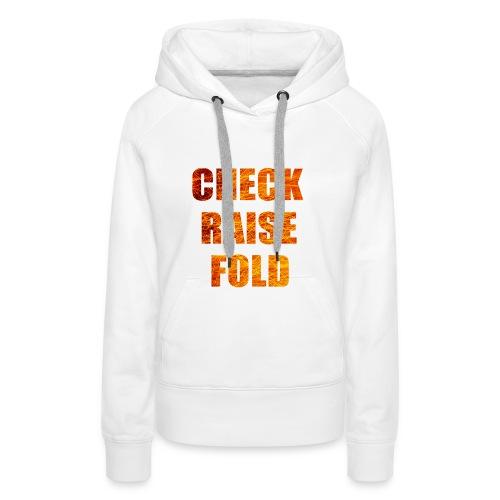 Check Raise Shirt - Women's Premium Hoodie