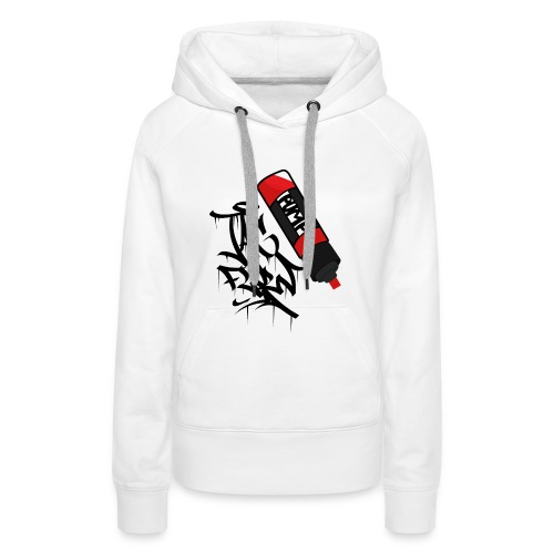 tag flow - Frauen Premium Hoodie