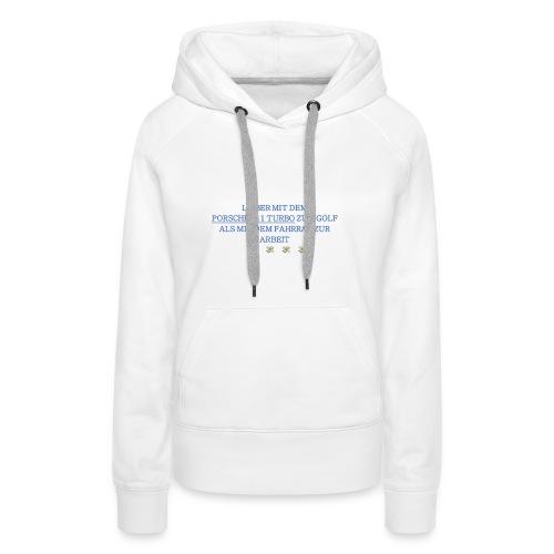PORSCHETURBOGOLF - Frauen Premium Hoodie