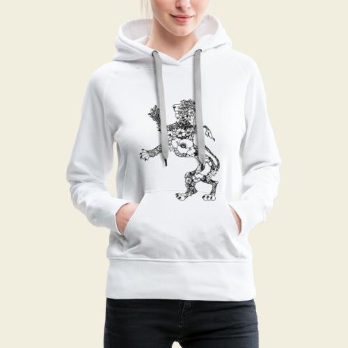 Wappen Löwe - Frauen Premium Hoodie