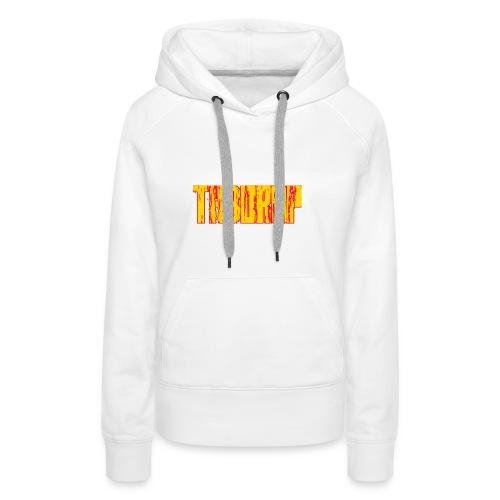 T-shirt th3 drop - Felpa con cappuccio premium da donna