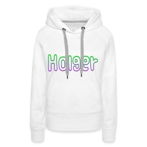 Holger - Dame Premium hættetrøje