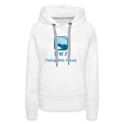 Fishing With Friends Logo - Women's Premium Hoodie