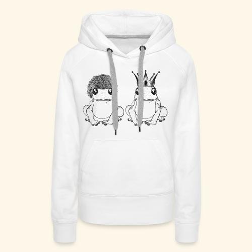 Crapaud - Sweat-shirt à capuche Premium pour femmes