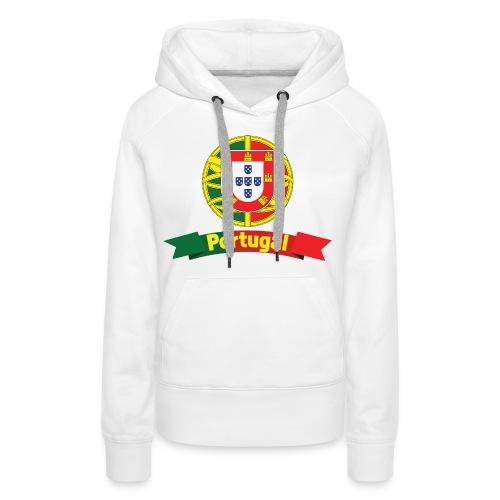 Portugal Campeão Europeu Camisolas de Futebol - Women's Premium Hoodie