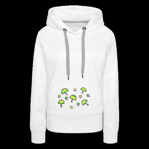 Neon Schirm - Frauen Premium Hoodie