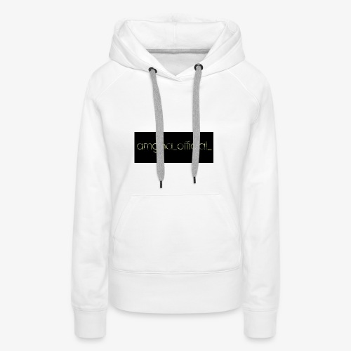 amgha_official_ - Frauen Premium Hoodie