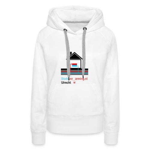Stadsverarming Utrecht Baby romper - Vrouwen Premium hoodie