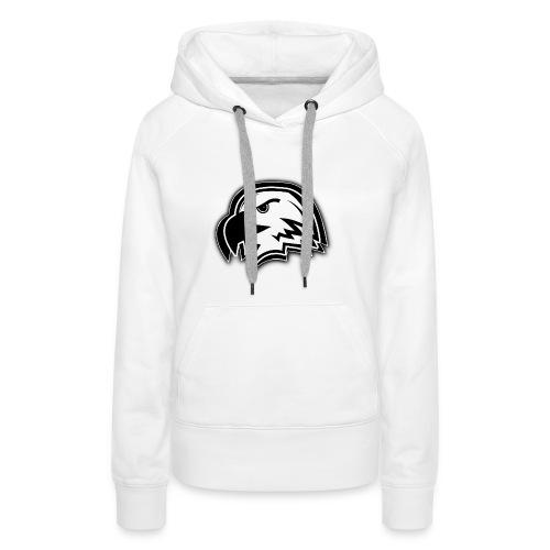 Black & White - Frauen Premium Hoodie