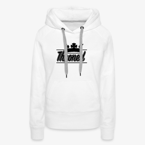 Throned Logo - Women's Premium Hoodie