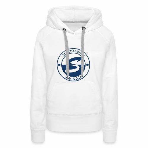 Sportfreunde SWING'ler - blau - Frauen Premium Hoodie