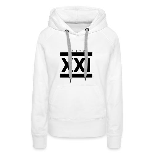 Skit T-Shirt (21st Century blackout edition) - Women's Premium Hoodie
