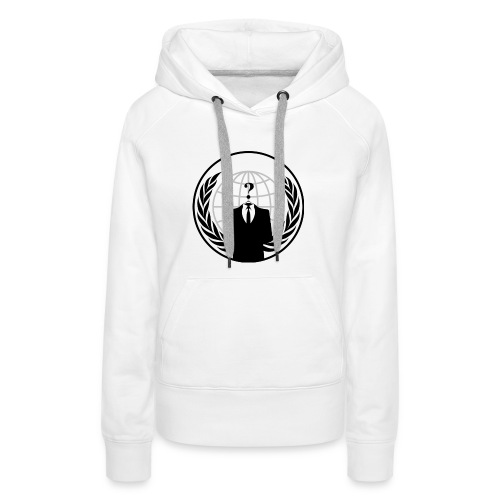 anonymous LOGO - Sweat-shirt à capuche Premium pour femmes