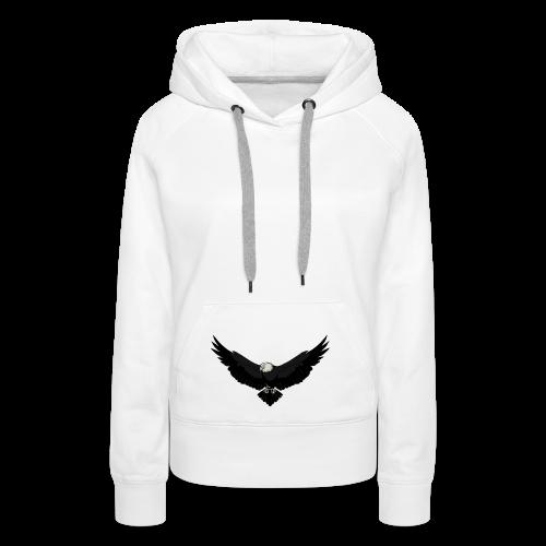 White BlackEagle Edition - Frauen Premium Hoodie