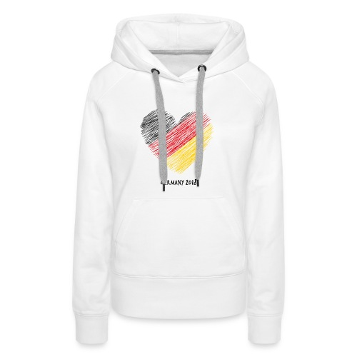 Fußball WM – Deutschland-Shirt - Frauen Premium Hoodie