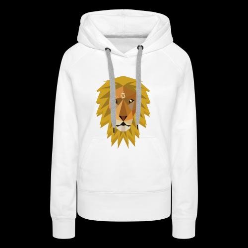 Spirit Lion case - Vrouwen Premium hoodie