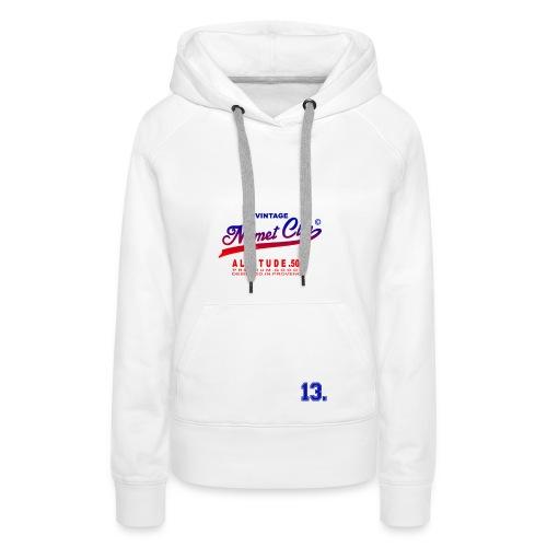 Mimet City - Sweat-shirt à capuche Premium pour femmes