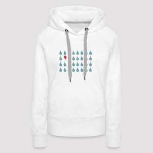Two Drops in Love Grafisch - Frauen Premium Hoodie